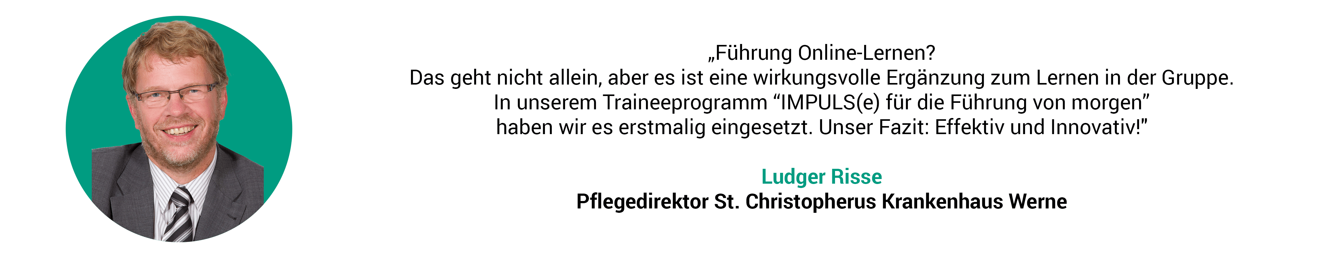 Referenz Ludger Risse